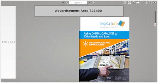 Digital Publishing - Skyscraper & leaderboard ads