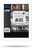 Integrated App - Tablet View - Sponsor Ad
