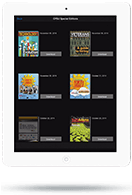 Integrated App - Tablet View - Library