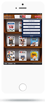 Newsstand App - Smartphone View - Subscribe