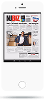 Newsstand App - Smartphone View - Full Page