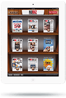 Newsstand App - Tablet View - Library