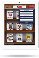 Newsstand App - Tablet View - Subscribe