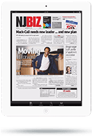 Newsstand App - Tablet View - Full Page