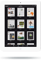 Newsstand App - Tablet View - Content